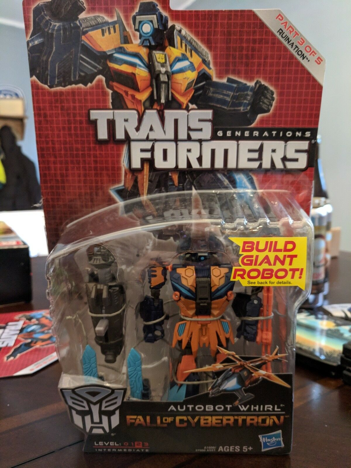 Transformers Generations Fall Of Cybertron Whirl