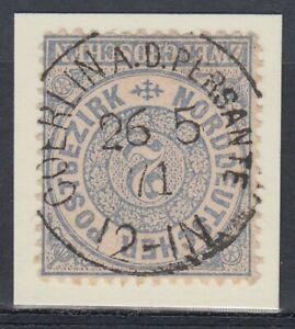 31468-COERLIN-AN-DER-PERSANTE-Pommern-NDP-Stempel-1871-auf-Mi-Nr-17
