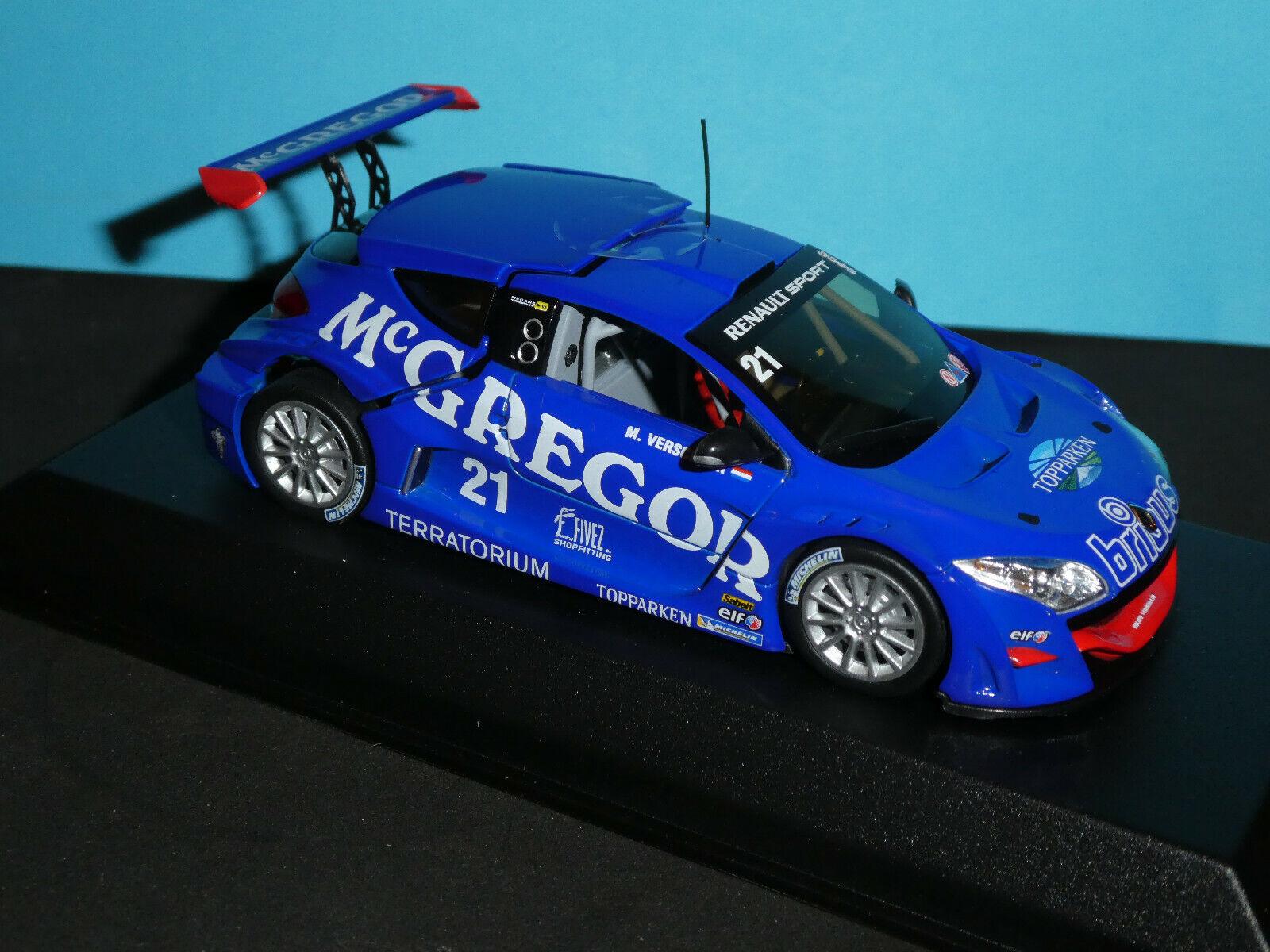 Renault Megane Trophy Winner World Series in 2009  1 43RD Scale Norev  Model