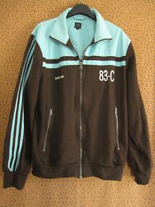 Veste Adidas Originals 83-C J.Mano Firebird marron Jacket Homme Tracksuit - L