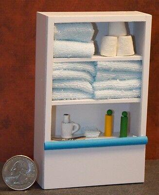 Dollhouse Miniature Wall Cabinet Shelf 1:12 inch scale D68 Dollys Gallery
