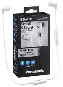 Panasonic-RP-NJ300BE-W-weiss-Wireless-Bluetooth-Ergo-Fit-Kopfhoerer-BRANDNEU