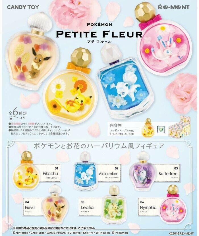 Pokemon Petite Fleur scatola 6 pezzi Re-Ment  cifra Cey giocattolo  prezzo all'ingrosso e qualità affidabile