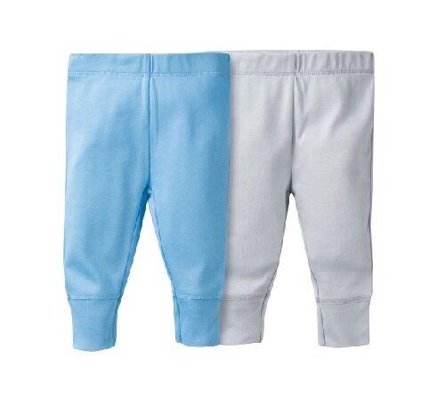 Gerber Boy 2-Pack Light Blue//Gray Pants Size Newborn BABY CLOTHES SHOWER GIFT