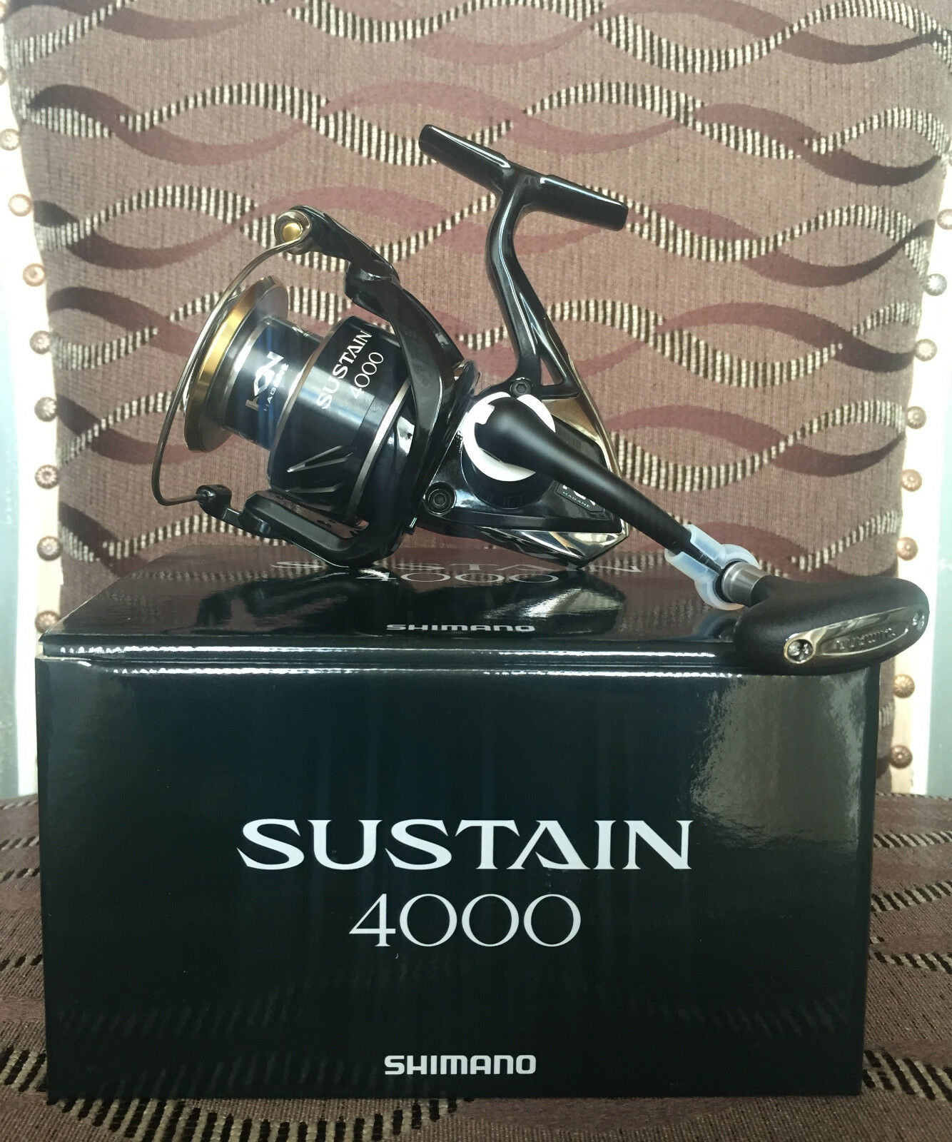SHIMANO SUSTAIN 4000 fi spinnrolle