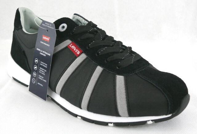 Herren Levi's Almayer II Sneaker schwarz 46