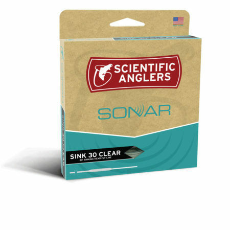 Scientific Anglers Sonar Taper Sink 30 Clear Fly Line