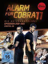 ALARM FÜR COBRA 11 ST.33 2 DVD KRIMI NEU G.VOLLMER/D.WUTTE/E.ATALAY/+