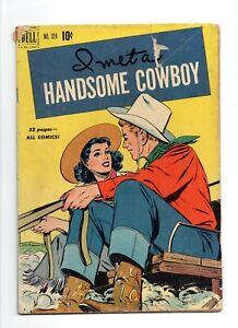 I-Met-a-Handsome-Cowboy-Four-Color-Comics-324-1951-Dell-Comics