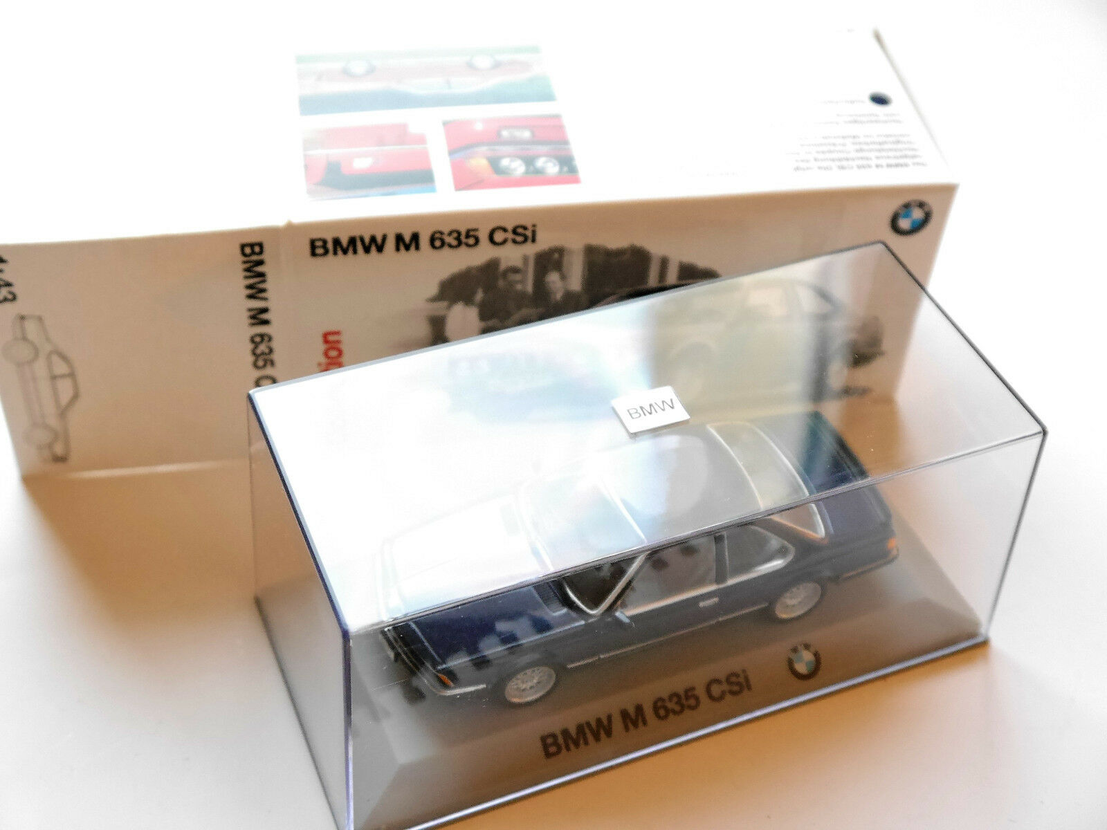 BMW M 635 CSi blau Blau Blau Blau metallic, Minichamps  80429421475 1 43 DEALER