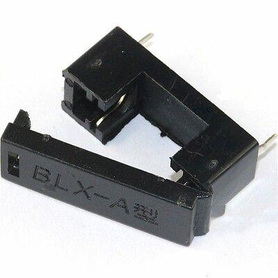 10Pcs BLX-A type PCB Mount FUSE HOLDER 5MM X 20MM 15A//125v SOLDER HOLDERS GM