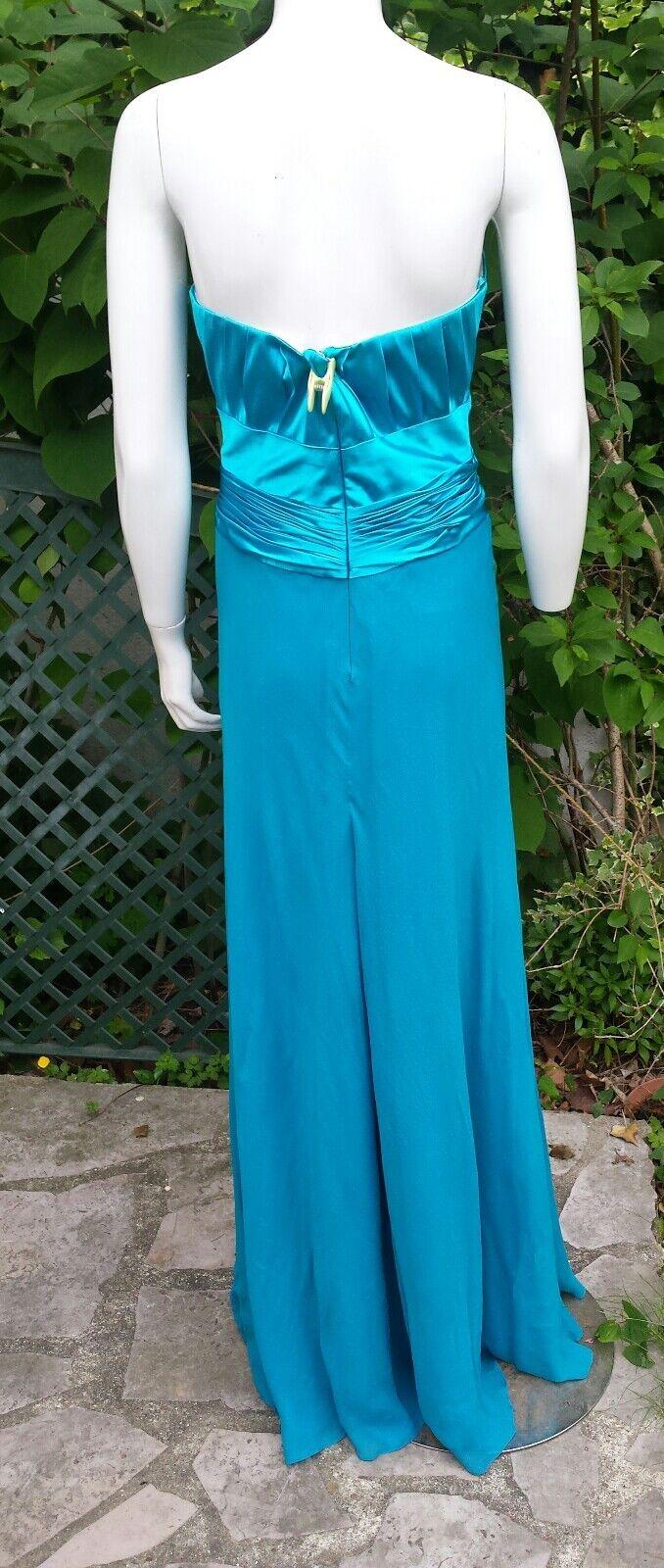 Sublime robe de soirée soirée soirée Sagaie en soie 40 valeur boutique   Idéale fêtes   e5ef6c