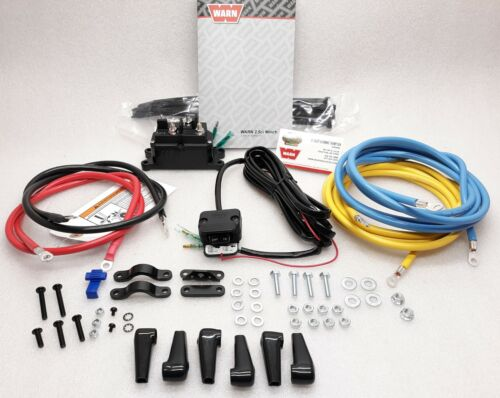 A2000 to an 2.5ci WARN 63990 Winch Contactor Upgrade Kit w//Rocker Switch