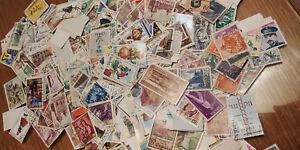 LOTE-1000-sellos-de-Espana-DIFERENTES-matasellados