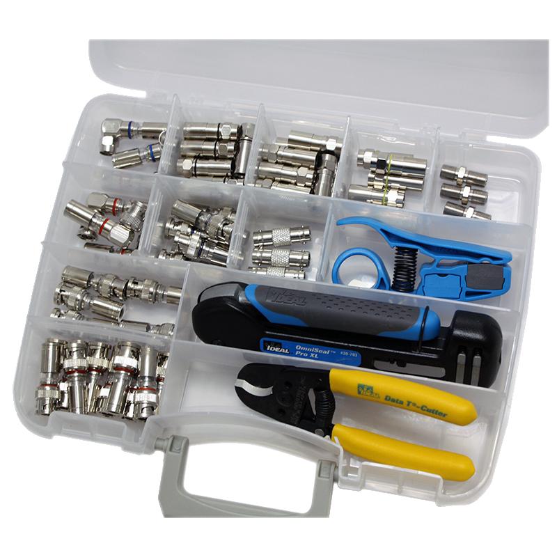Ideal 33-620 economía Kit Básico De De De Compresión Coaxial b3ec33