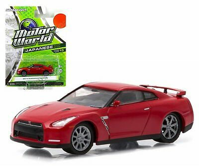 R35 Motor World 2014 NISSAN GT-R Series 15 * 2016 Greenlight Collectibles Japanese Edition 1:64 Scale Die-Cast Vehicle SG/_B01C5A2WKS/_US Red