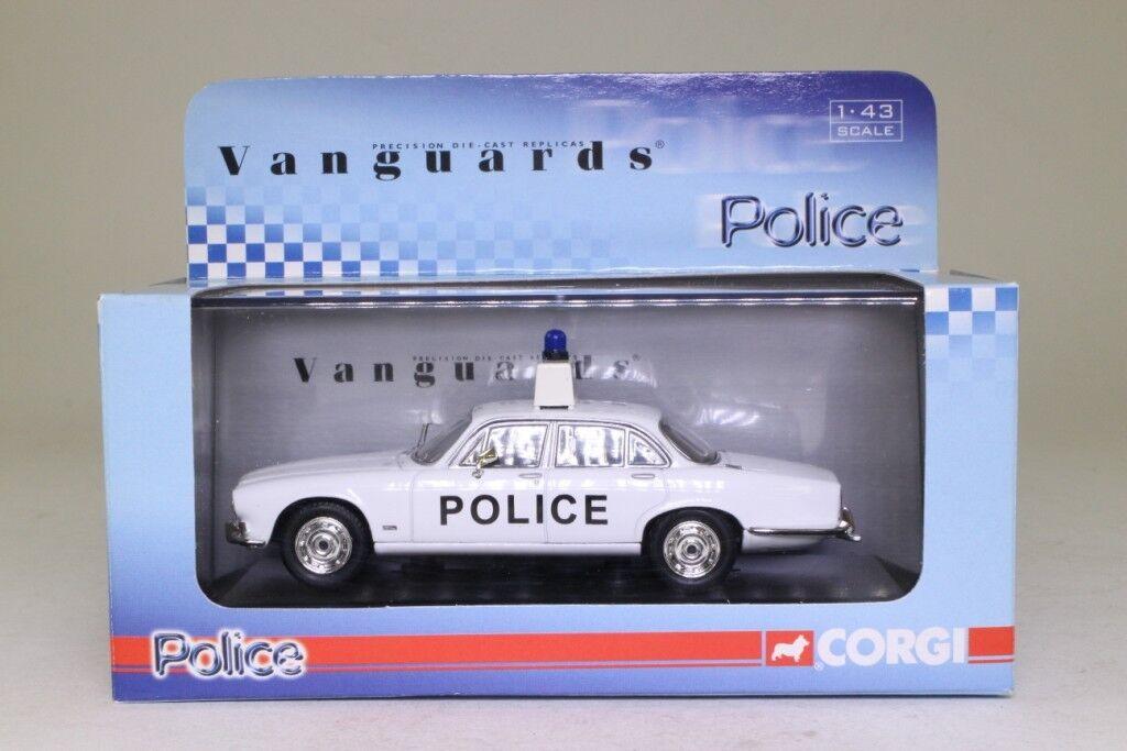 JAGUAR XJ6 4.2 L AYRSHIRE POLICE VANGUARDS VA08609 1 43 UK RHD  SERIES 1
