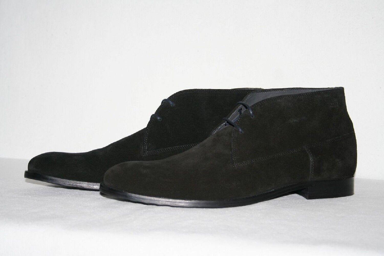 Hugo Boss Desert botas, mod. dresar fur, Talla   us 10, negro