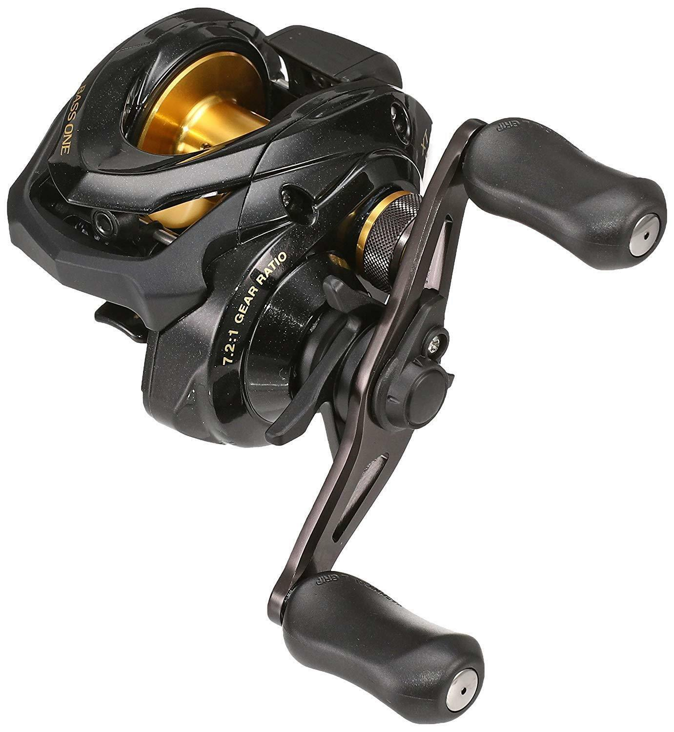 SHIMANO 17 BASS ONE XT 151 Left-Handed Baitcasting Reel S A-RB SVS New in Box
