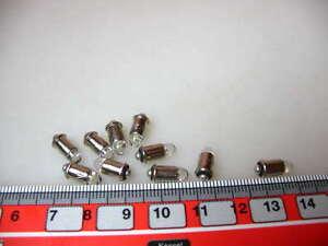 10-Stk-LED-MS4-16-22-V-kaltweiss-z-B-fuer-VEB-DDR-Loks-LED10