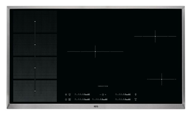AEG HKP95510XB 90CM 5 Zone INDUCTION COOKTOP RRP $4499.00