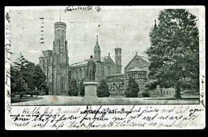 160-Un-Divided-Back-1909-Postcard-Smithsonian-Institute-Washington-DC