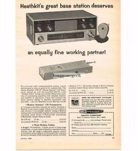 Collectibles 1964 Heathkit Gw-42 Base Station Receiver Cb Ham Radio Vtg Print Ad 50% OFF 1960-69