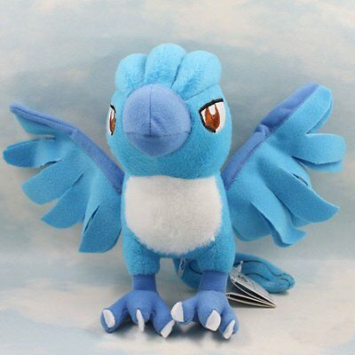 "7"" Articuno Pokemon Cute Soft Plush Toy Doll Kids Gift New"