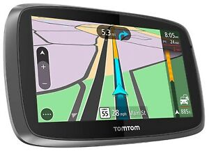 TomTom-GO-600-TRUCKER-Portable-6-034-GPS-Lifetime-Truck-Maps-Traffic-USA-CANADA-B