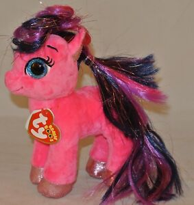 df07a27140c New! 2018 Summer Release Ty Beanie Boos RUBY the little pony 6