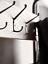 thumbnail 2 - Cox & Cox Living Room / Hallway Modern Metal Standing Shelf Unit - RRP £275