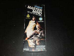 Vintage 1976 Number Master Mind Game by Invicta New
