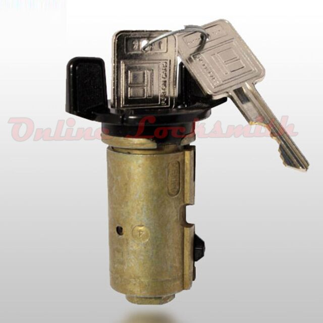 New Ignition Switch Cylinder Replacement For Oldsmobile 79 91 W Two Keys Lc14303