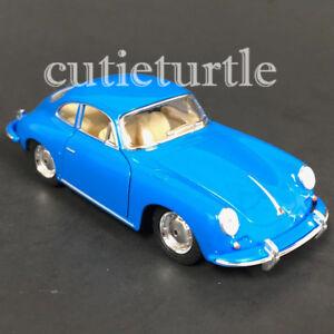 Kinsmart-Porsche-356-B-Carrera-2-1-32-Model-Toy-Car-KT5398-Blue