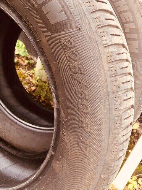 Helårsdæk, Michelin, 225 / 60 / R17