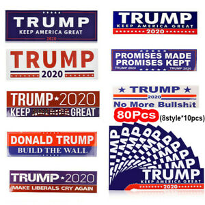 80x-Donald-Trump-2020-President-Keep-Make-America-Great-Car-Bumper-Stickers-US