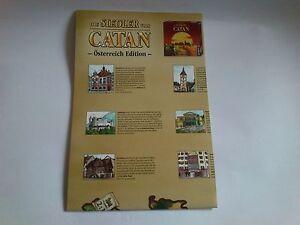 SIEDLER-von-CATAN-OSTERREICH-SZENARIO-SPIELPLAN-Edition-Raritaet-NEU