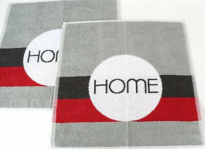 2x Handtücher Home Frottee Küchentücher Kracht Küche Design Küchentücher Towel