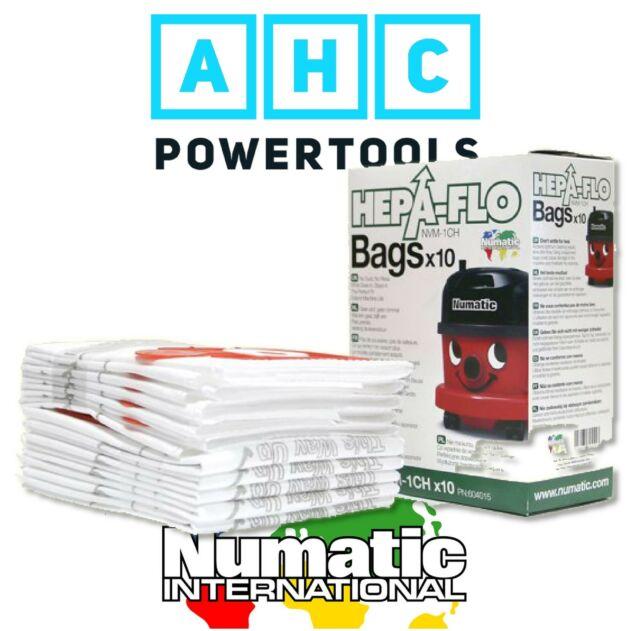 10 x Henry Hoover Bags Numatic Vacuum NVM-1CH NVM1C NVM1CH NVM 1CH NVM1B 604015