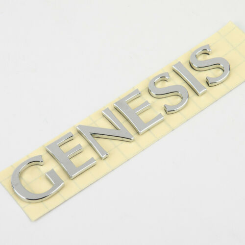 Genuine OEM Hyundai Genesis Name Trunk Emblem for 2015-2016 86310-B1000