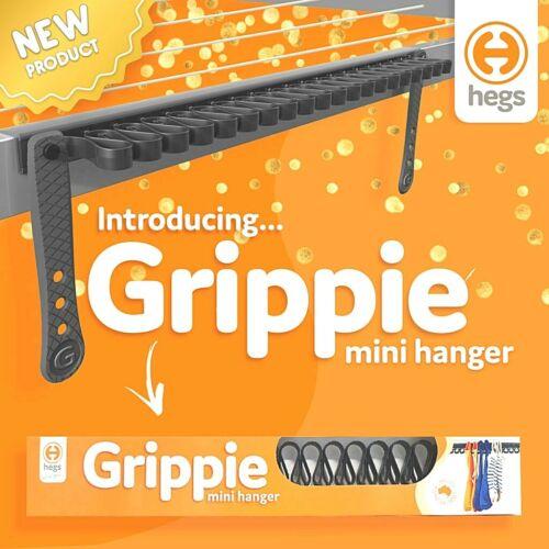 New HEGS Grippie Mini Hanger NO PEGS Drying Rack Outdoors//Indoors SOCKS SWIMMERS