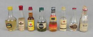 mignonnettes-old-mini-bottle-liqueur-mandarine-prune-kirsch-etc-lot-n24