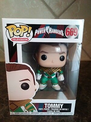 NO HELMET VINYL 669 32805 TELEVISION: POWER RANGERS GREEN RANGER FUNKO POP
