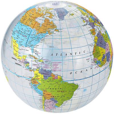 Costruttivo Bow-up Globo 40cm Mappamondo Atlas Earth Education Giocattolo Gonfiabile Palla Forma Elegante