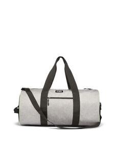 2c5932e557ed Details about Victoria Secret PINK Black/Marl Grey Weekender Gym Bag/Duffle  Travel Tote Arm