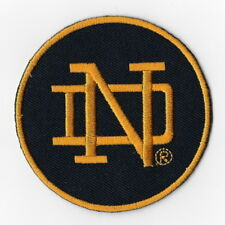 Notre dame embroidered patch.