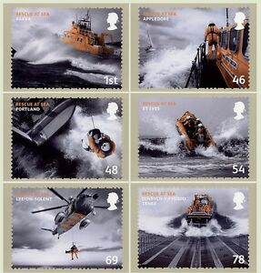 GB POSTCARDS PHQ CARDS MINT NO. 309 2008 MAYDAY RESCUE AT SEA 10% OFF ANY 5+