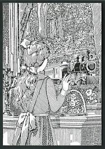 cartolina invito a mostra Hugo Pratt Corto Maltese