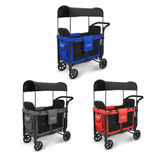 WonderFold Baby W2 Multi-Function Two Passenger Wagon Folding Stroller