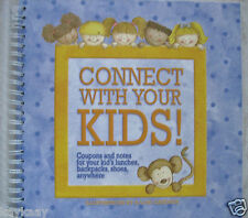 CONNECT WITH YOUR KIDS! by Lori Gardner COUPON BOOK Lunch Notes Backpack School